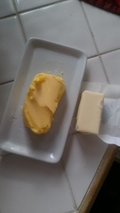 Butter from grass-fed cows vs butter from the grocery store